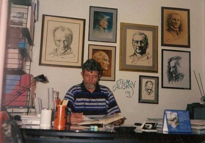 SELAHATTİN YALÇIN ETEM ÇALIŞKAN HAKKINDA - Call of Calligraphy